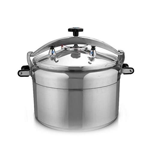 Pentola a pressione in alluminio, fornello a pressione a prova di esplosione, fornello a pressione commerciale di grande capacit, pentola per la cucina per la casa, 3L-80L  adatta per fornello a gas