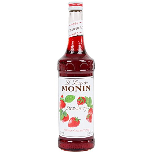 Monin Strawberry Syrup 750ml (25.4oz)