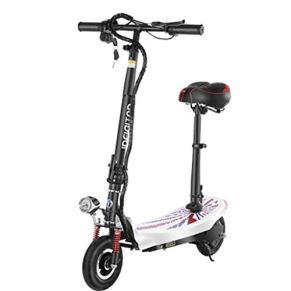 Patinete Eléctrico, Neumático de 8 Pulgadas 350 W Motor sin escobillas Plegable Bicicleta eléctrica Mini Scooter Scooter…