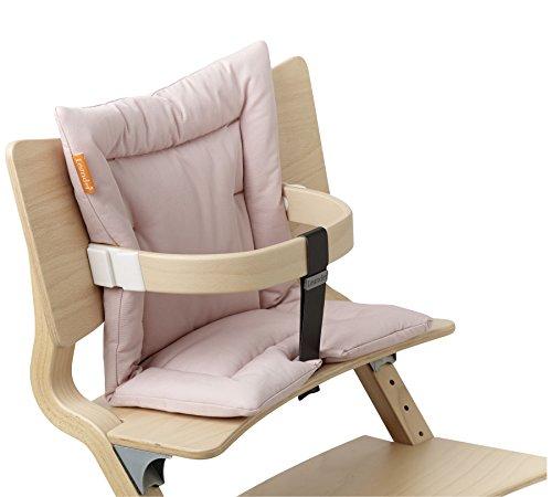 Leander Sitzkissen aus Baumwolle für Hochstuhl in rosa/Soft Pink (ab 6 Monate)