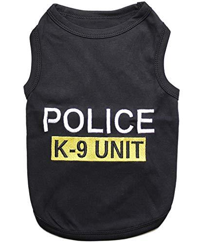 Parisian Pet Police Dog T-Shirt, 2XL