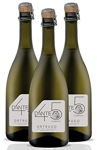 Ortrugo Dei Colli Piacentini Frizzante Doc Dante 45 - confezione da 3 bottiglie