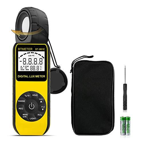 BTMETER BT-881E Digital Illuminance/Light Meter
