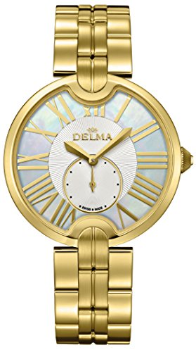 Delma - Damenuhr Analog Quarz Metallarmband - 407039