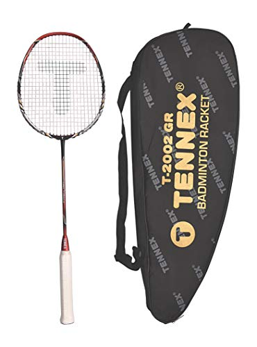 Tennex Badminton Racket T 2002 GR Single Piece