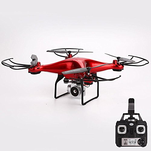 ZZH Droni con Fotocamera, UAV Durable Fir 0.3MP App Wireless Remote Quadcopter Drones per Bambini...