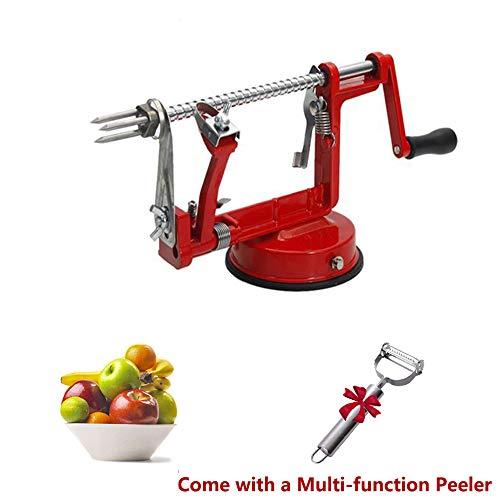 3-in-1 Apple/Potato Peeler Corer Stainless Steel Hand-cranking Apple Peeler Slicer Peeler