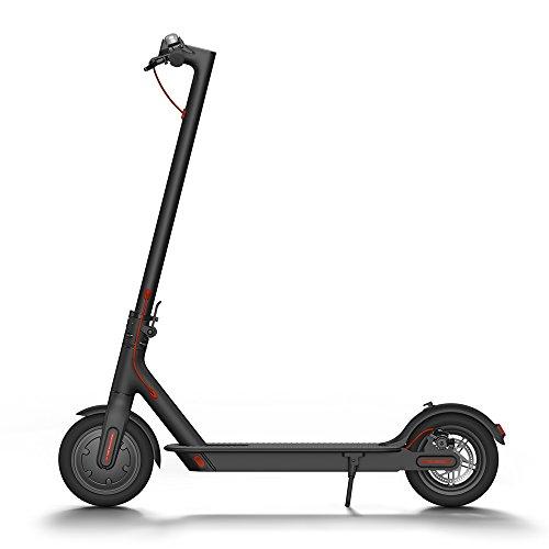 Xiaomi Mi Scooter eléctrico adulto de batería, 30KM de largo alcance, fácil fold-n-carry diseño, ultraligero con garantía,Versión Americana