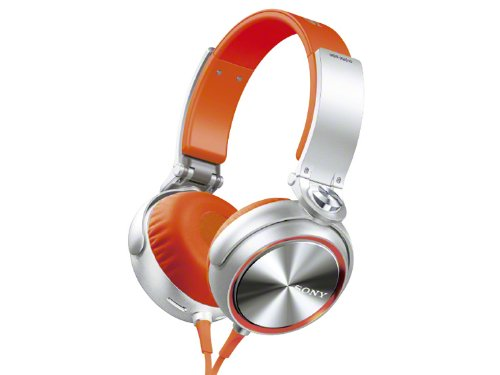 SONY ステレオヘッドホン オレンジ MDR-XB610/D