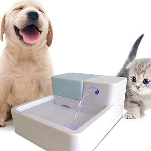 Uniclife Pet Water Fountain, Dog Cat Automatic...