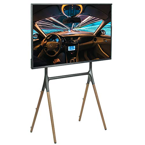 VIVO Artistic Easel 49 to 70 inch LED LCD Screen | Studio TV Display Stand | Adjustable TV Mount with 4 Legs (STAND-TV70A)