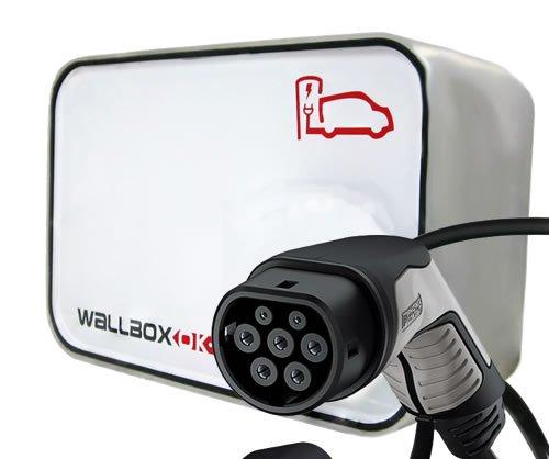 New Wallbox Punto de recarga coche eléctrico Tipo 2 (IEC 62196, Mennekes) 16A 230V Monofásico