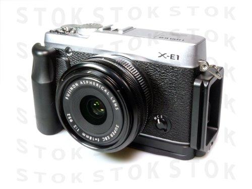 FUJIFILM X-E1 / X-E2 専用 アルカスイス互換L型ブラケット カメラグリップ LB-XE1