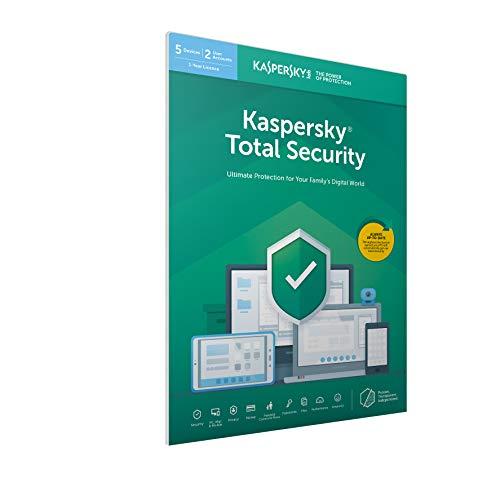 Kaspersky Total Security 2019 | 5 Dispositivos | 1 Año | PC / Mac / Android | Código Dentro De Un Paquete