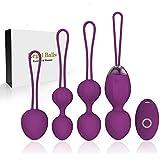 2 en 1 Poids et massages d'exercice Kegel Balls Ben Wa Balls Kegel Balls...