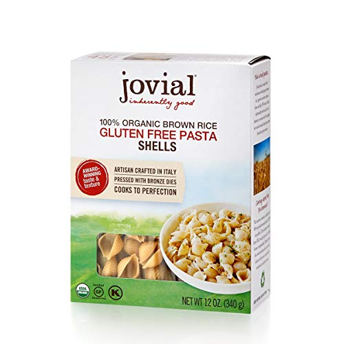 Jovial Grain-Free Brown Rice Shells | Certified Gluten-Free | USDA Certified Organic | Made in Italy | 12 oz (1 pack)