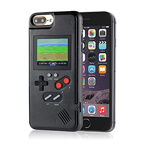 Color Display Video Game Case for iPhone 8 for Men Child Kids Boys, VOLMON Handheld Game Console Case for iPhone, Retro Gameboy Case for iPhone 6/6S/7/8