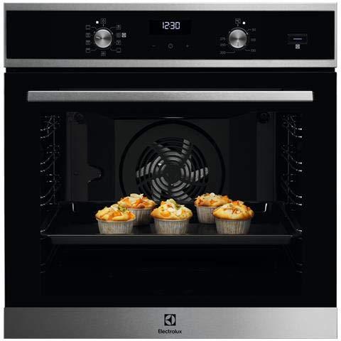 Forno Elettrico Ventilato Multifunzione, Vano XL, Classe energetica A, da 60 cm, Vapore, Pizza,...