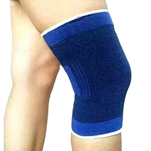 2 pezzi, Ginocchiera uso sportivo ad alta compressione - tutore ginocchia, legamenti rotula rotulea...
