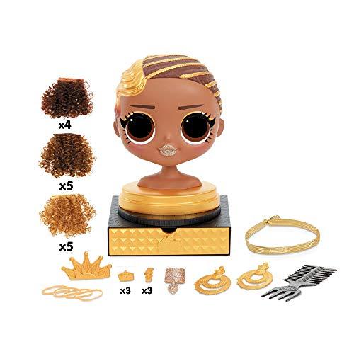 Image 5 - LOL Surprise Tête à coiffer OMG avec perruques aux coiffures infinies - 30 surprises et accessoires - Royal Bee