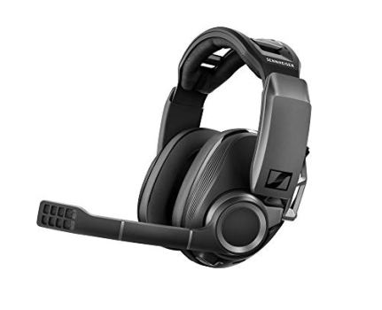 Sennheiser GSP 670 Wireless Gaming Headset, Low-Latency Bluetooth, 7.1 Surround Sound, Noise-Cancelling Mic, Flip-to-Mute, Audio Presets, For Windows PC, PS4, and Smartphones
