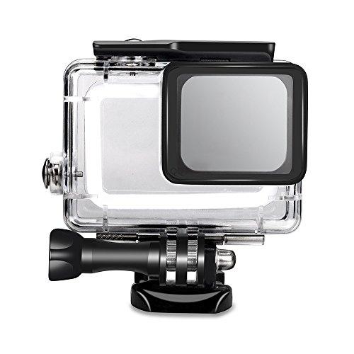 Custodia impermeabile per GoPro Hero 5, custodia protettiva subacquea da 45 m con staffa per Action Camera Go Pro Hero 6