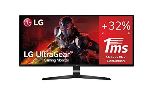 """LG LG 29UM69G-B- Monitor Gaming de 29"""" WFullHD (2560x1080, IPS LED, 21:9, HDMI x1, DisplayPort x1, USB, 5ms, 75Hz, ultrawide, antireflejo), negro"""