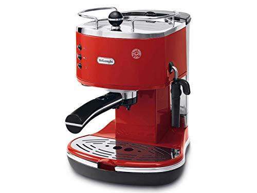 De'Longhi Icona Eco 311.R Macchina da Caffè Espresso Manuale, Caffè in Polvere o in Cialde E.S.E.,...