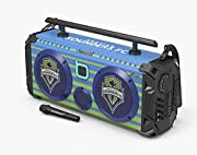 Bumpboxx is the largest, loudest Bluetooth-enabled boombox. We're bringing back the nostalgic feel of the original Boombox, accompanied by great sound, deep bass and piercing highs. The Flare8 is a step up from our Flare6 model. This unit has larger ...