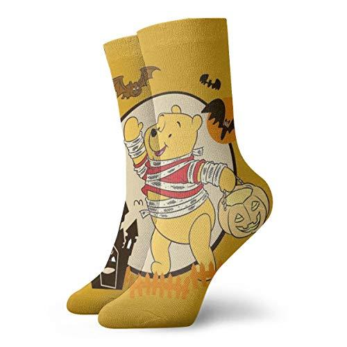 Winnie The Pooh Calzini Unisex Adulti Casual Crew Calzini Anime Stampa Crew Calzini