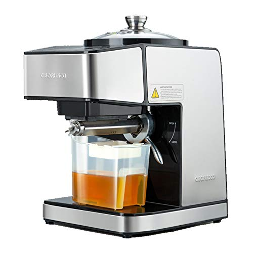 Happy2Buy Cibofresco DS-800 230 Watts Fully Automatic Cold Press Oil Machine with Moisture Removal...