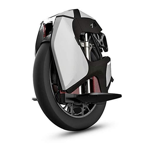 Kingsong S18 Monociclo Eléctrico, Unisex Adulto, Blanco, Talla Única