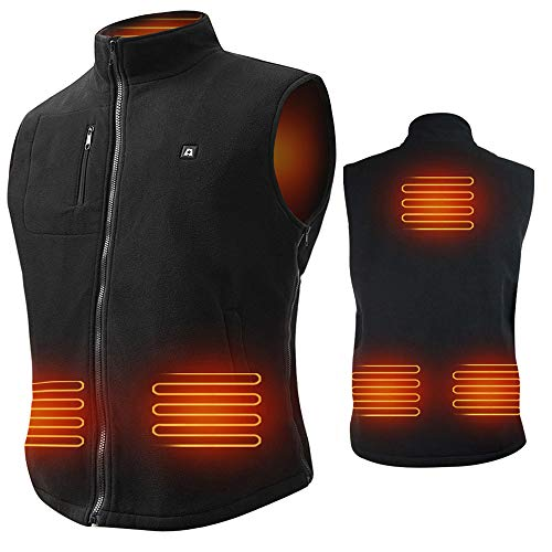 ARRIS 7.4V Battery Rechargable Heated Warm Vest Size Adjustable for Outdoor use