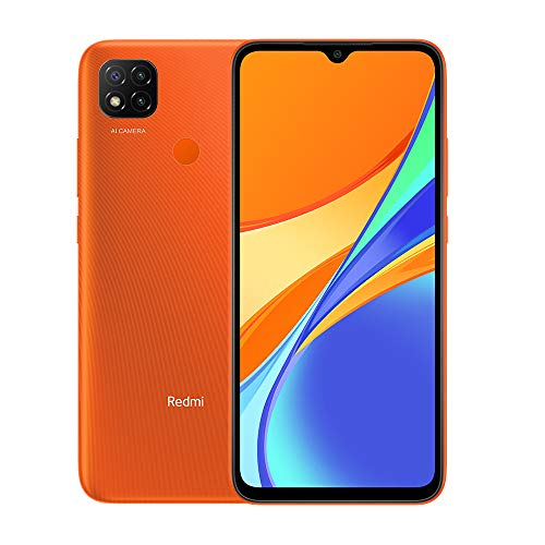 Smartphone XIAOMI REDMI 9C 6,53' FHD+ 2GB/32GB 4G DUALSIM A10.0 Orange