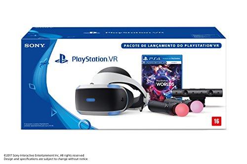 PlayStation VR - Branco - com Worlds Bundle