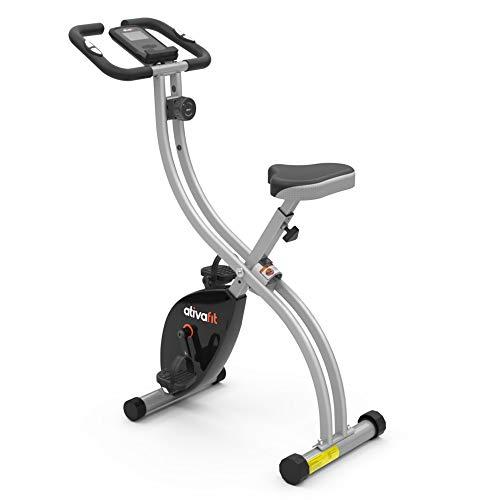 ATIVAFIT Indoor Cycling Bike Folding Magnetic Upright Bike...