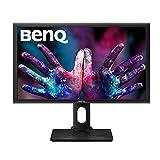 BenQ PD2700Q Monitor per Designer, 27 Pollici QHD, 2560 x 1440 QHD, CAD/CAM, Pannello IPS, Darkroom Mode, Low Blue Light, Flicker-Free, Nero