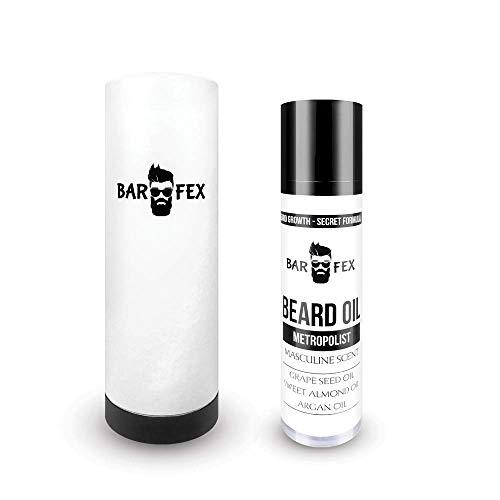 Olio Crescita Barba Uomo ● Realizzato in Germania ● Beard Oil for Beard Growth