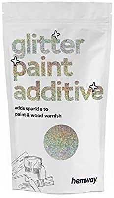 ★ No.1 Trade Glitter Paint Additive ★ This glitter is sold to trade worldwide ★ Completely Child Safe and Non-Toxic ★ Safe for use in childrens bedroom or play rooms - Add that sparkle to their every day surroundings! ★ Proven #1 on the market throug...