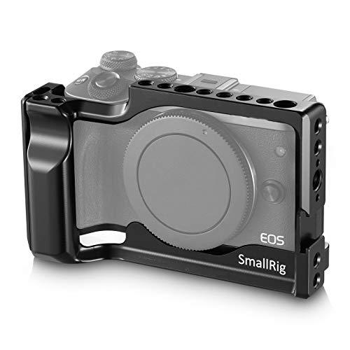 SMALLRIG Canon EOS M3/M6専用ケージ DSLR 装備 拡張カメラケージ 軽量 取付便利 耐久性 耐食性 Canon EOS M3/M6対応-2130