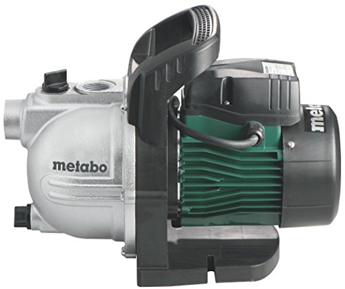 Metabo Gartenpumpe P 2000 G (600962000) Karton, Nennaufnahmeleistung: 450 W, Max. Fördermenge: 2000 l/h, Max. Förderhöhe: 30 m