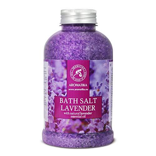 Lavender Bath Salt with Natural Lavender Essential...