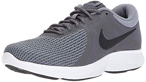 Nike Men Revolution 4 Black/White-Anthracite Running Shoes-11 UK (46 EU) (12 US) (908988-001)