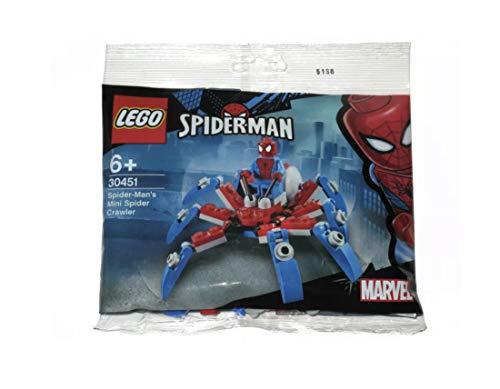 LEGO マーベル スーパーヒーローズ スパイダーマン ミニスパイダークローラー ポリバッグ (30451)
