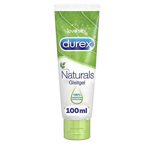 Durex Naturals Gleitgel auf Wasserbasis – Gleitgel aus 100{5f1dfa78e3bbc44c3d5286ad1606d258316c766f3e1757a33f24e8bb42b9afc8} natürlichen Inhaltsstoffen und mit Intim-Balance-Formel – 1 x 100 ml in der Tube