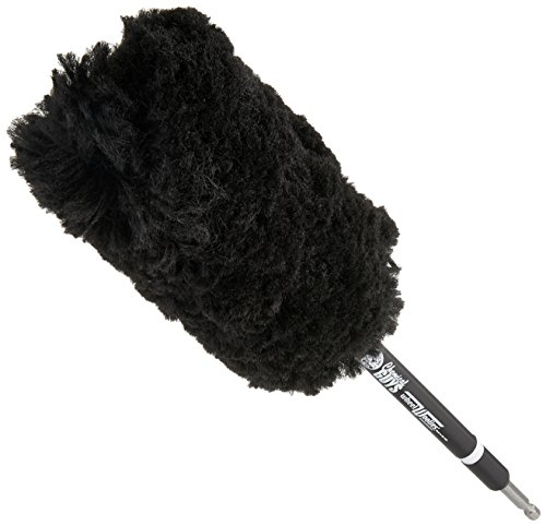 Chemical Guys ACC401 Power Woolie Microfiber Wheel Brush with Drill Adapter