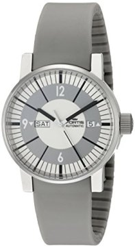 Fortis Men's 623.10.37 SI.10 Spacematic Classic White Analog Display Automatic Self Wind Grey Watch