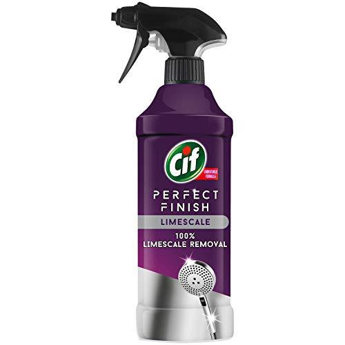 CIF Perfect Finish Limescale Remover Spray | 100% Effective | 6x435ml
