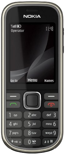 Nokia 3720 classic Handy (Outdoor, Bluetooth, E-Mail, Ovi, Kamera mit 2 MP) grey