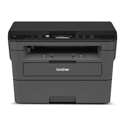 Brother Compact Monochrome Laser Printer, HLL2390DW, Convenient Flatbed Copy & Scan, Wireless Printing, Duplex Two-Sided Printing, Amazon Dash Replenishment Ready